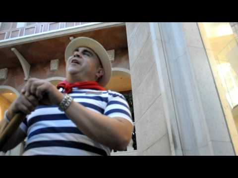 The Best Singing Gondolier at the Venetian, Las Vegas - Tino!
