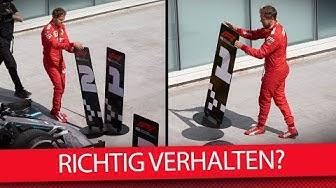 War Vettels Verhalten unprofessionell? - Formel 1 2019 (Talk)