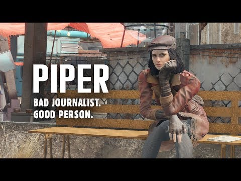 A Profile on Piper: Bad Journalist, Good Person - Fallout 4 Lore