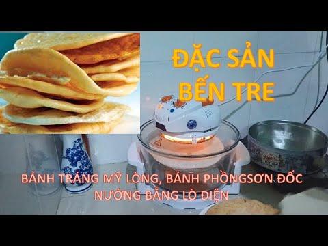 Nướng bánh phồng bằng lò điện | Bánh tráng Mỹ Lồng – Bánh phồng Sơn Đốc