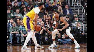 Giannis Antetokounmpo vs Anthony Davis - All 1 On 1 Plays | 2019-20 NBA Season