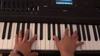 How to play Jealous on piano - Labrinth - Jealous Piano Tutorial