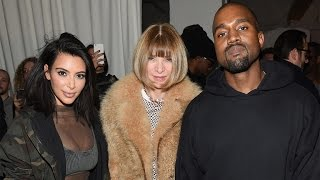 anna wintour explains why she ended up in tears at kanye wests fashion show