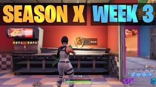 Fortnite Secret Battle Star Location SEASON X / 10, WEEK 3