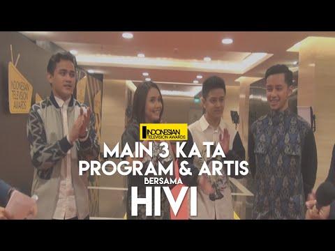Cover Lagu Main 3 Kata Program & Artis Bersama Hivi