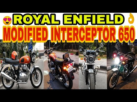 MODIFIED ROYAL ENFIELD INTERCEPTOR 650 | BIKE MODIFICATION | KAROL BAGH | JD VLOGS DELHI