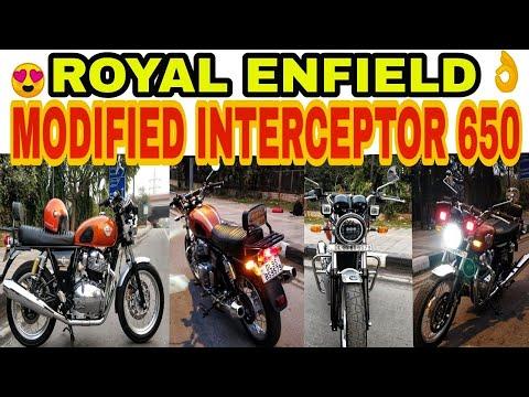 MODIFIED ROYAL ENFIELD INTERCEPTOR 650 | BIKE MODIFICATION | KAROL BAGH | JD VLOGS DELHI