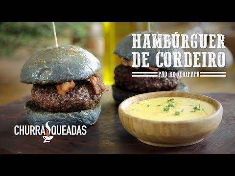 Hambúrguer de Cordeiro (Part. Guto Quirós)