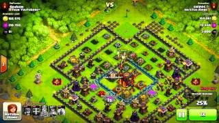 """LVL 13 CANNON Clash Of Clans"" (TH 10 Version 2?)"
