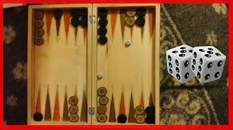 Joc de table cu zaruri/backgammon,jocul de table strategie(Game intelligence Backgammon) part.1
