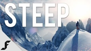 I Suck at Snowboarding - STEEP Gameplay + First Impressions