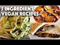 VEGAN HACKS // MUST TRY 5 INGREDIENT RECIPES