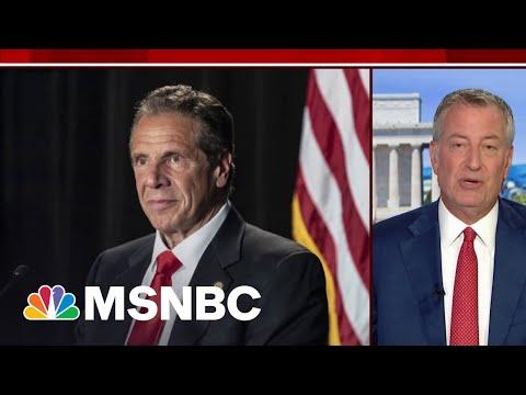 NYC Mayor Bill de Blasio Calls On Gov. Andrew Cuomo To Resign