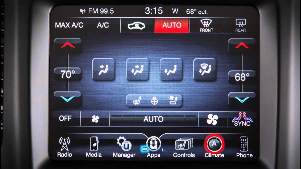 2016 Dodge Charger | Automatic Climate Controls