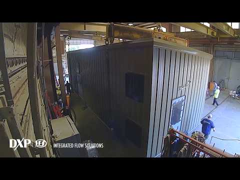 Steel-Frame Modular Pump Enclosure From IFS [Timelapse]
