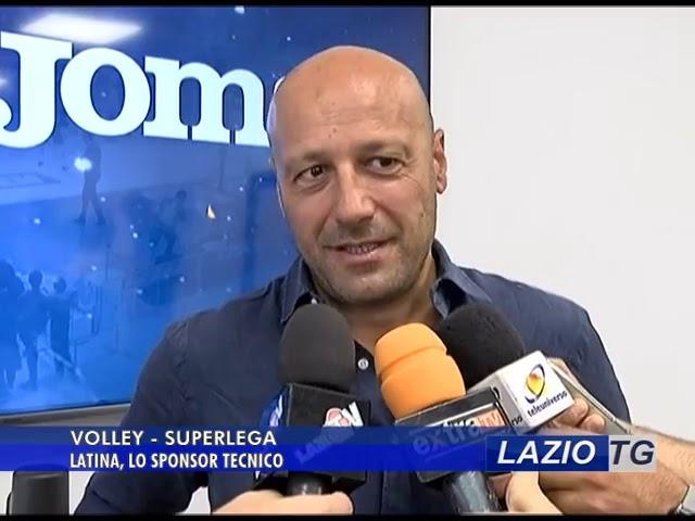 LAZIO TG   SPORT VOLLEY, SPONSOR TECNICO PER IL LATINA