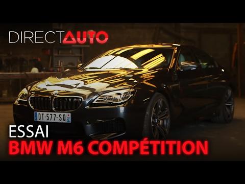 Essai - BMW M6 COMPÉTITION