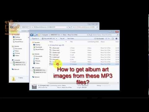 How To Extract & Save Album Art Images Embedded In MP3 Files