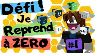 DEFI: #1 I'm starting over at ZERO! Bee Swarm Simulator DE ROBLOX