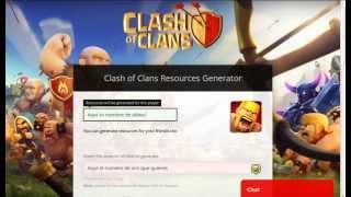 Hack de Clash Of Clans 15/02/15  100% Funcional