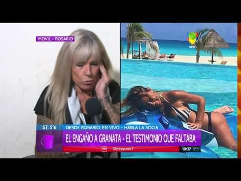 Habló la mejor amiga de Granata: Amalia está triste y en reposo