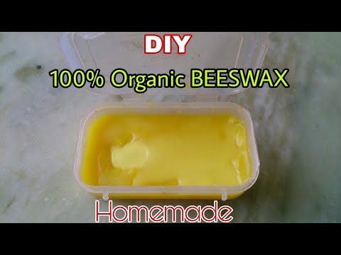 How to Make Beeswax at Home - DIY Beeswax at Home - Homemade Beeswax- Beeswax cleaning and Filtering