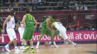 【ブラジル】2012ロンドンオリンピック男子バスケ代表