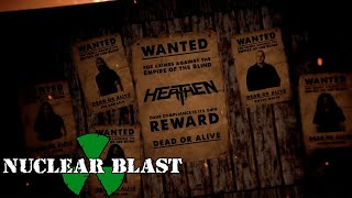 HEATHEN - Empire of The Blind (OFFICIAL LYRIC VIDEO)