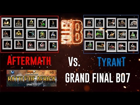 Battle of Africa Grand Final! BO7 Aftermath v Tyrant