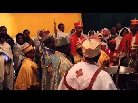 St  Mary of Zion Ethiopian Orthodox Tewahedo Church Timket Celebration 2015