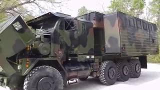 M1070 off road camper bug out C&C Equipment 812-336-2894 ccsurplus.com