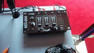 Explication détaillé de ma table de controle IBIZA SOUNDS + (passage du chaine)