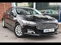 Used Ford Mondeo 1.5 TDCi ECOnetic Titanium 5dr Black 2016