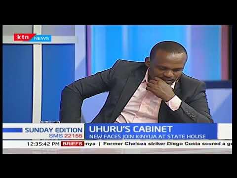 President Uhuru Kenyatta appoints new cabinet secretaries