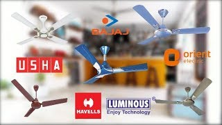 Top 10 Best Ceiling Fans  | With Price | India 🔥🔥🔥