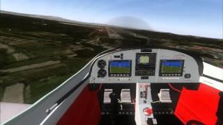 Sport Cruiser ! Just Flight FSX ! Em Viseu a fazer Low pass à pista