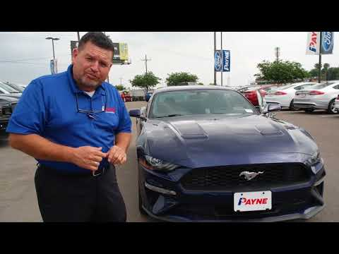 2018 ford mustang ecoboost | payne weslaco ford | weslaco, texas