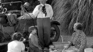 [Great Film Scenes] It's a Gift (1934) - Picnic on the Way to the Orange Grove