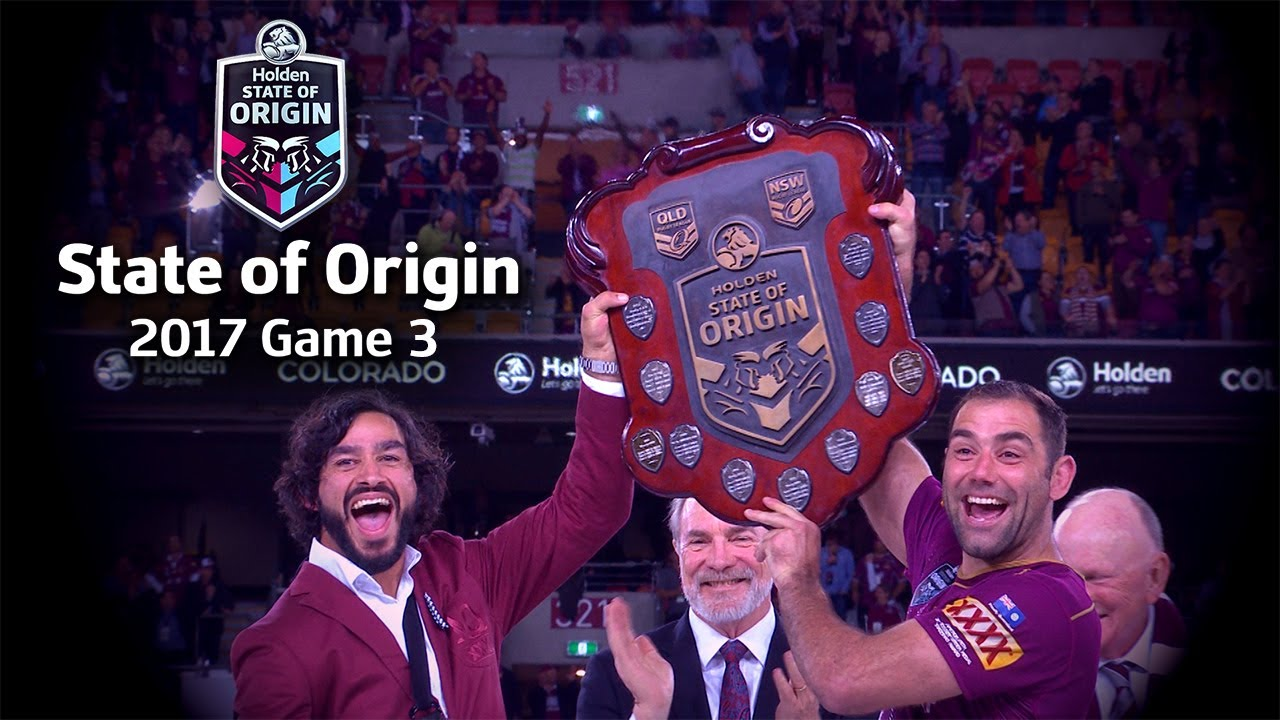 State of Origin game 3 Highlights 2017 - YouTube