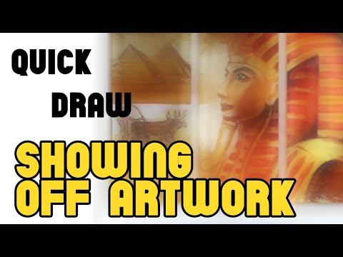 Artwork showcase - new video