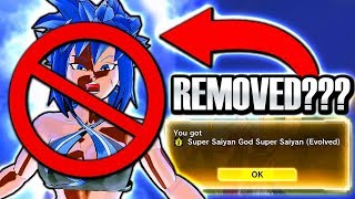 NEW SSGSS BLUE EVOLUTION SKILL REMOVED GLITCH? Dragon Ball Xenoverse 2 DLC Pack 10