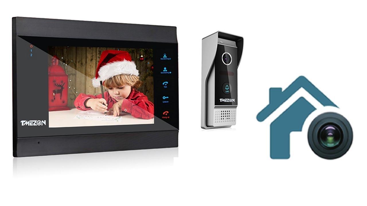 TMEZON smart video intercom doorbell, entry surveillance system ----MZ IP  V739B
