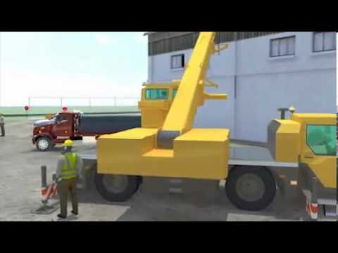 Swinging Cranes  Prevention Video v Tool  Struck by Accidents in Construction