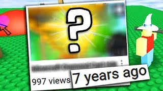 Reacting to my first Roblox Video (7 years ago!)