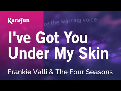 Karaoke I've Got You Under My Skin - Frankie Valli & The Four Seasons *
