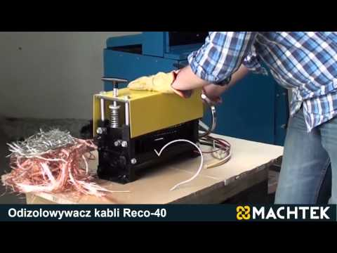 Cable stripper MACHTEK Reco 40 recycling machine