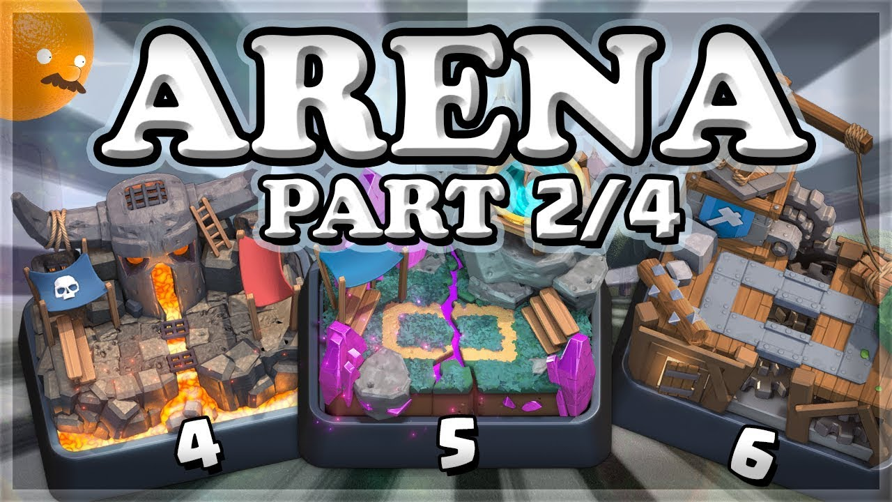 The deck for the 5th arena is Clash Royale. Tips for the game