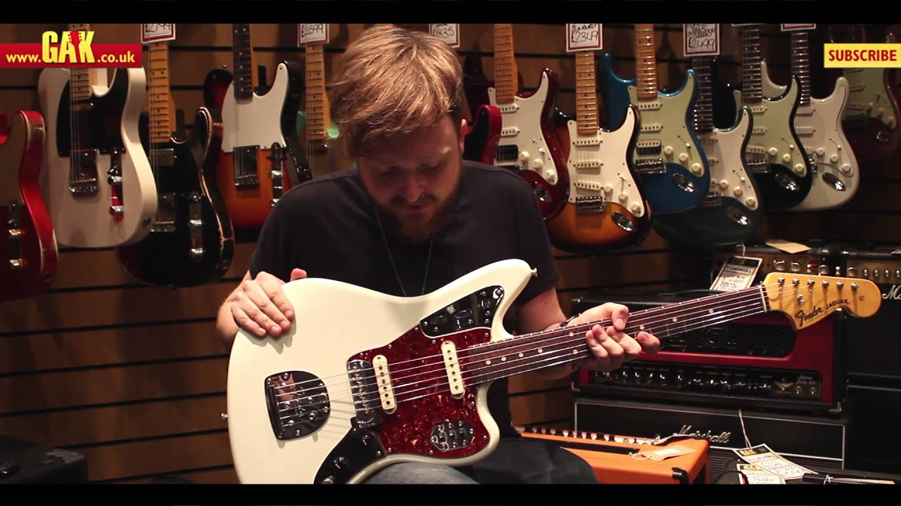 Fender Custom Shop 62 Jaguar Closet Classic Olympic White Demo At Gak Youtube