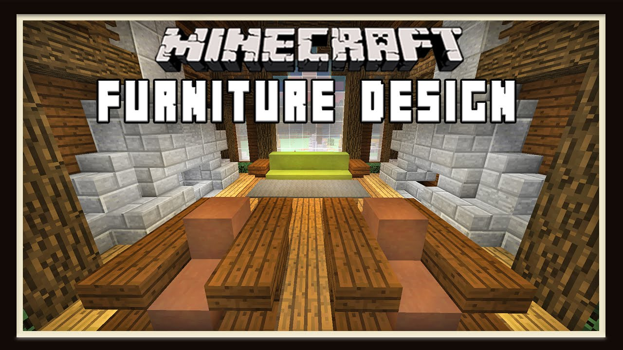 Minecraft Living Room Furniture Minecraft Living Room Furniture Design Ideas How To Build A