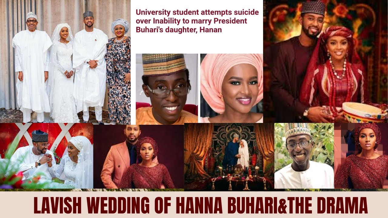 Download THE ELABORATE WEDDING OF PRESIDENT  MUHAMMADU BUHARI'S DAUGHTER